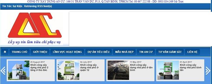 công ty thiết kế An Cư http://www.xaydungancu.com/