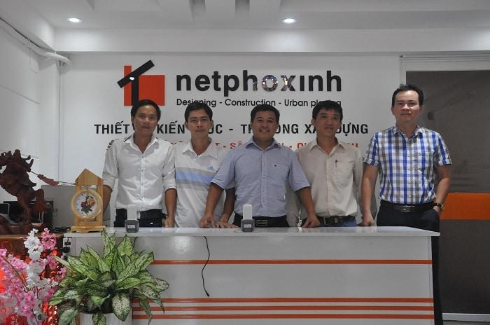 công ty thiết kế nhà và xây dựng Nét Phố Xinh