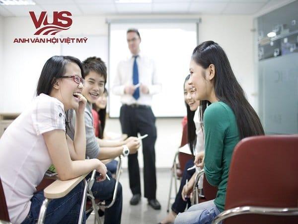 Luyên thi IELTS tại VUS