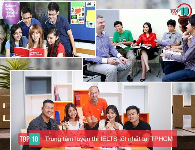 Top 10 Trung tâm luyện thi IELTS tốt nhất ở TPHCM
