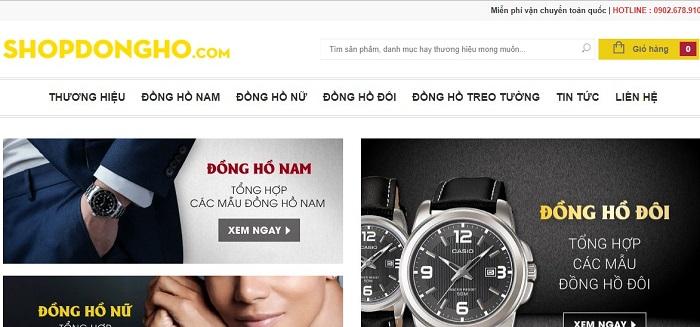 shop dong ho