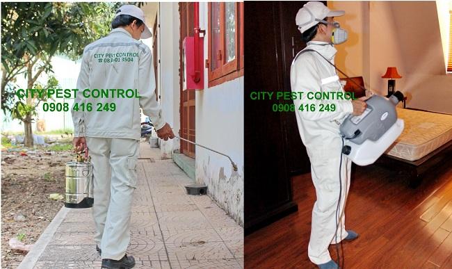 Diệt côn trùng gây hại, diệt muỗi, diệt mối hiệu quả