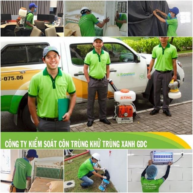 Công ty diệt côn trùng Khử trùng xanh