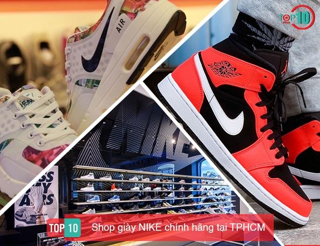 Shop giày nike chính hãng tại tphcm