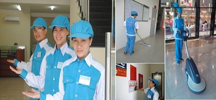 Huy phúc - công ty dịch vụ vệ sinh tốt nhất tại TPHCM