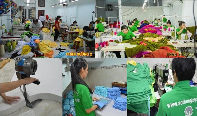 Top 10 xưởng bán áo thun trơn sỉ rẻ nhất TP HCM: An Việt Phát