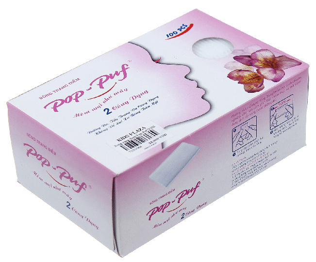 Top 10 loại bông tẩy trắng tốt nhất: Pop Puf