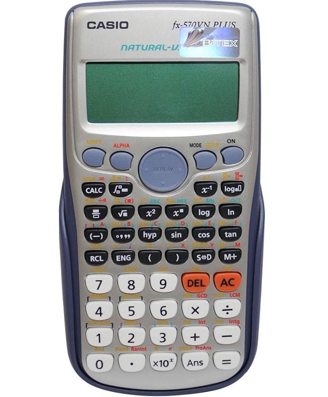 Top 3 máy tính casio tốt nhất dành cho học sinh, sinh viên: 570VN PLUS