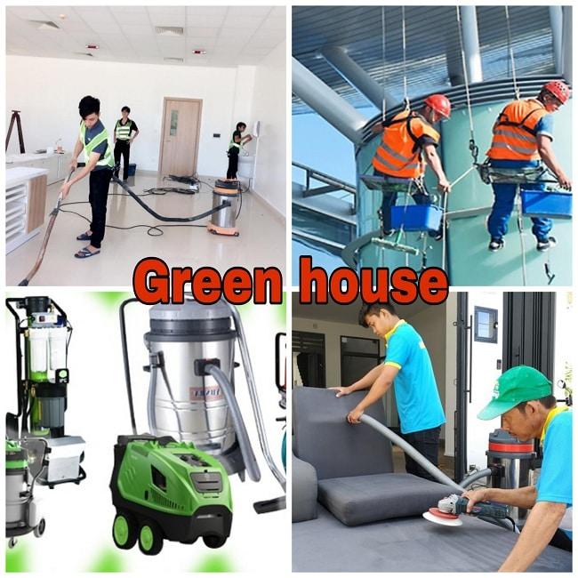 Dịch vụ vệ sinh Green House