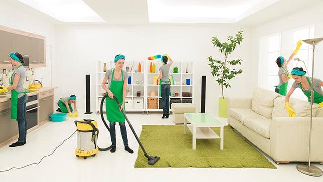 Dịch vụ vệ sinh văn phòng aa clean