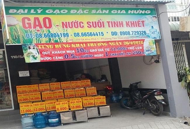 Top 10 cửa hàng bán gạo sạch uy tín tại Tp.HCM: Gia Hưng
