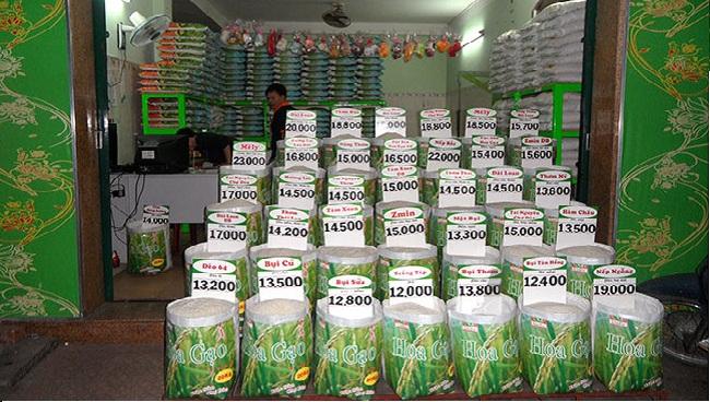 Top 10 cửa hàng bán gạo sạch uy tín tại Tp.HCM: Đại lý hoa gạo