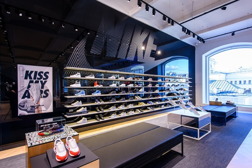 Top 10 shop giày nike chính hãng tại tphcm: Nike store