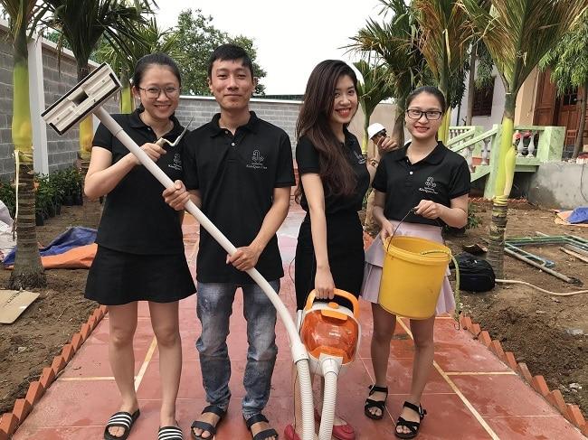 dịch vụ vệ sinh Kim Quốc Tiến