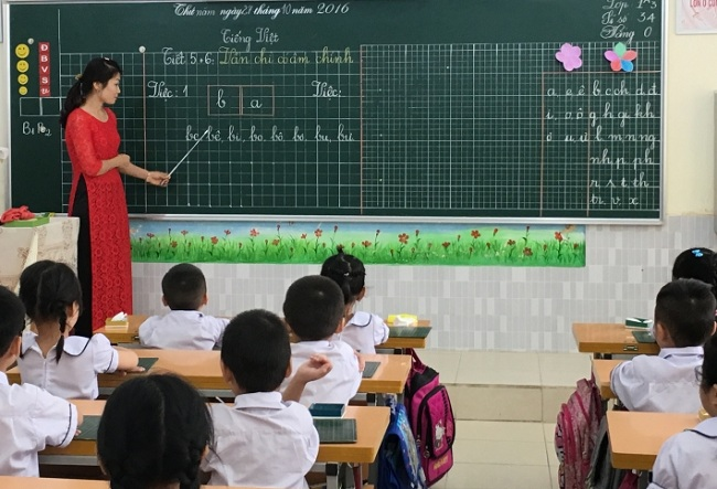 Top 10 bài văn tả cô giáo hay nhất: Trong giờ tập đọc