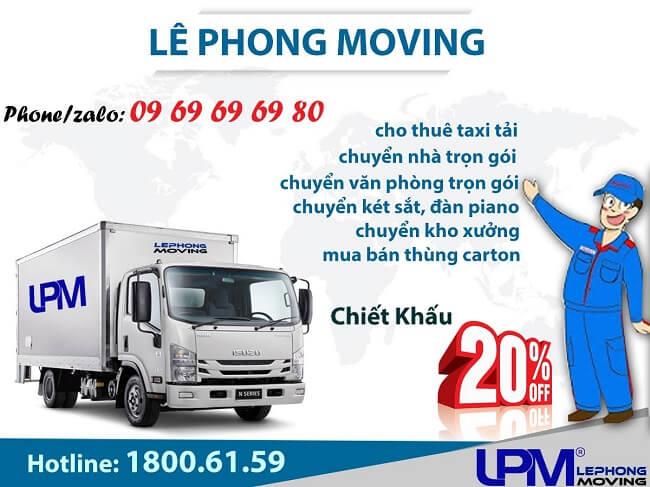 Dịch vụ Chuyển văn phòng Le Phong Moving