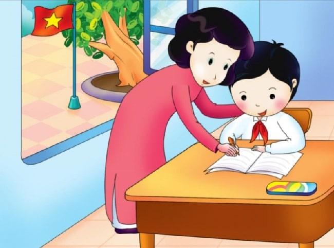 Top 10 bài văn tả cô giáo hay nhất: Ở trường mẹ là cô giáo