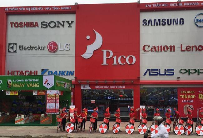 Siêu thị điện máy tại Hà Nội: Pico