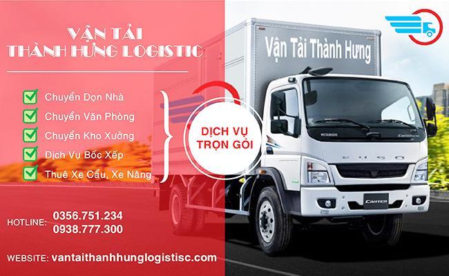 Các dịch vụ thế mạnh của Thành Hưng Logistics