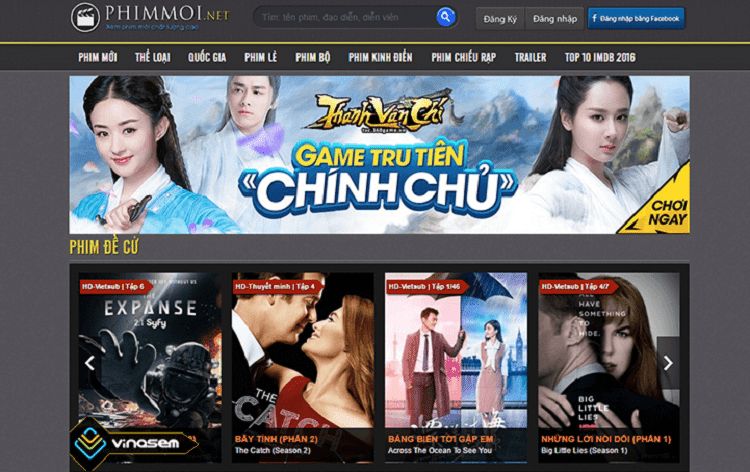Top 10 trang web xem phim tốt nhất