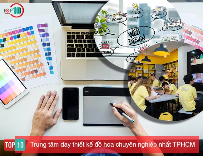 Trung tâm dạy thiết kế đồ họa TPHCM