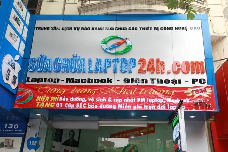 Cong ty sua chua lap top 24h