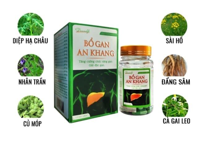 Thuốc giải độc gan An Khang tốt nhất