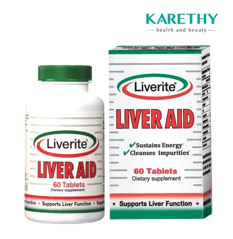 thuốc giải độc gan uy tín liverite liver aid