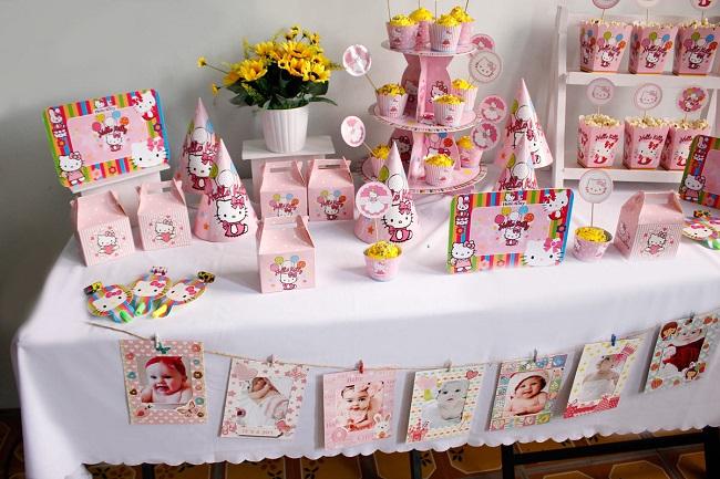 Cách trang trí sinh nhật đơn giản tại nhà bằng phụ kiện trang trí sinh nhật