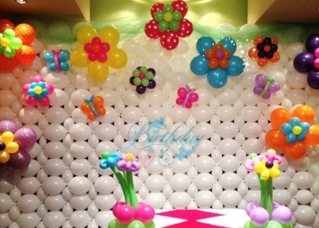 cách trang trí sinh nhật đơn giản tại nhà bằng bong bóng sinh nhật