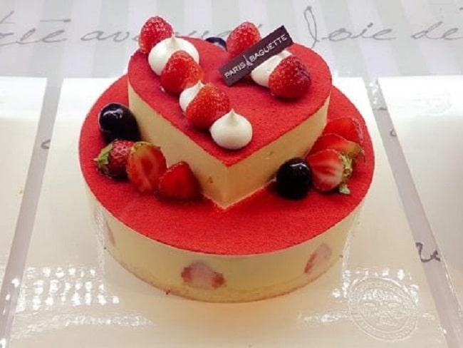 Paris Baguette là top 10 tiệm bánh sinh nhật ngon, đẹp, chất lượng nhất TP. HCM