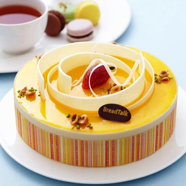 BreadTalk là top 10 tiệm bánh sinh nhật ngon, đẹp, chất lượng nhất TP. HCM