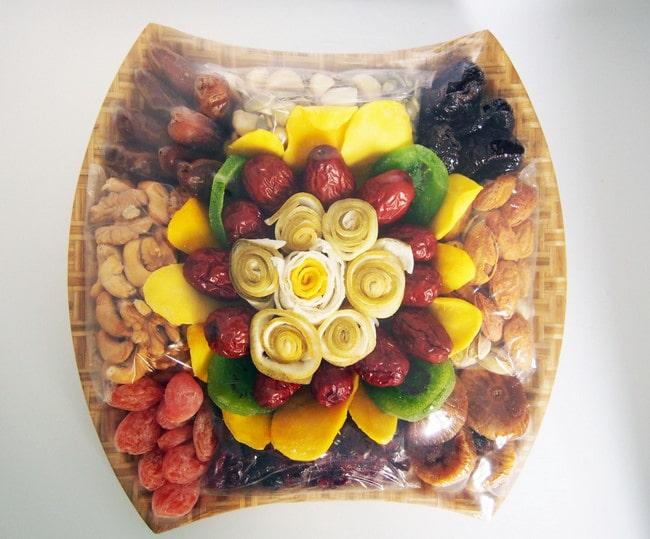 Các loại mứt trái cây