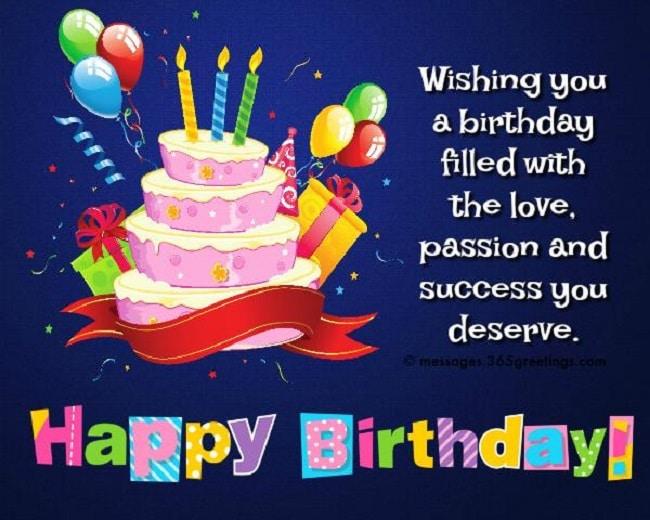 Lời chúc sinh nhật hay cho người thân, họ hàng là một trong những lời chúc sinh nhật hay & ý nghĩa nhất