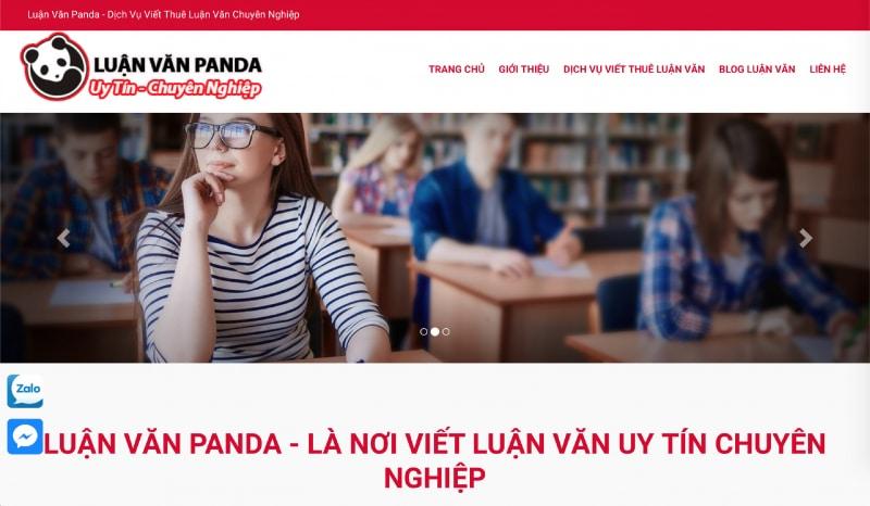 Dịch vụ viết thuê luận văn - Luận văn Panda