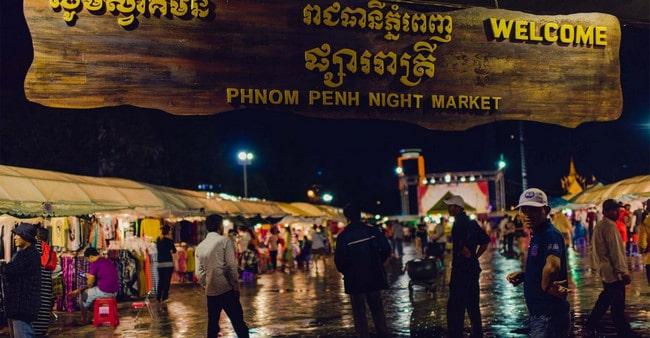 Món nướng đường phố Campuchia