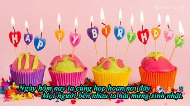 """bài hát """"Khúc hát mừng sinh nhật"""" là top 10 bài hát chúc mừng sinh nhật hay nhất, ý nghĩa nhất"""