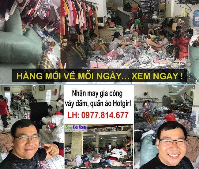 Shop Khởi Nghiệp là Top 11 xưởng may gia công quần áo uy tín tại TP HCM