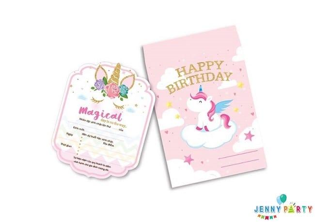 Jenny Party Store là địa chỉ bán thiệp sinh nhật đẹp nhất ở tphcm