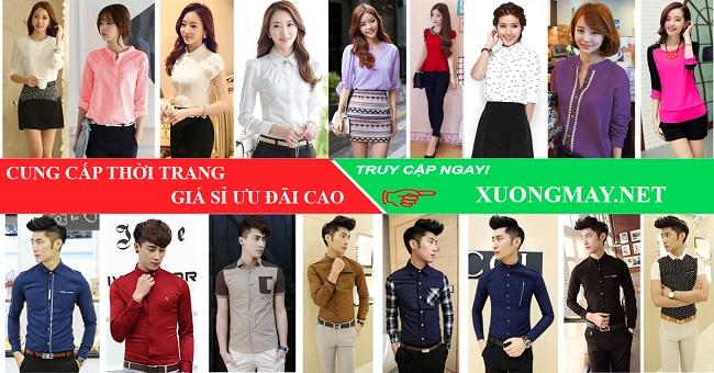xuongmay.net là top 10 xưởng sỉ quần áo giá rẻ & uy tín tại TP HCM