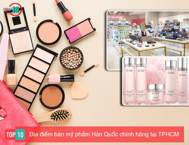 Địa điểm bán mỹ phẩm Hàn Quốc tại TPHCM