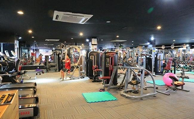 Phòng tập gym nam nữ Boss Club