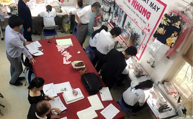 Trung tâm dạy cắt may Trang Nhung