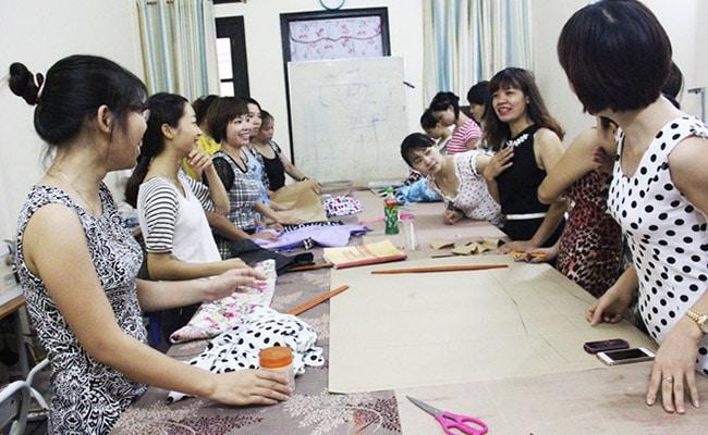 Trung tâm dạy cắt may cô Phương