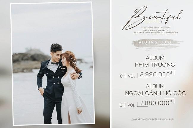 Chụp ảnh cưới aloha