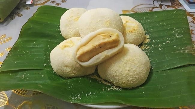 TOP 10 ĐẶC SẢN HƯNG YÊN - bánh dày làng gàu