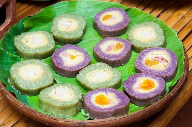 TOP 10 MÓN ĐẶC SẢN LONG AN - bánh tét long an