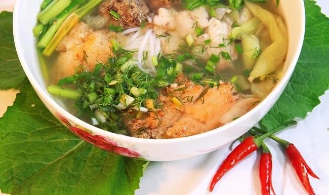 Top 10 đặc sản Hà Nam ăn 1 lần là nhớ mãi không quên - bún cá rô đồng