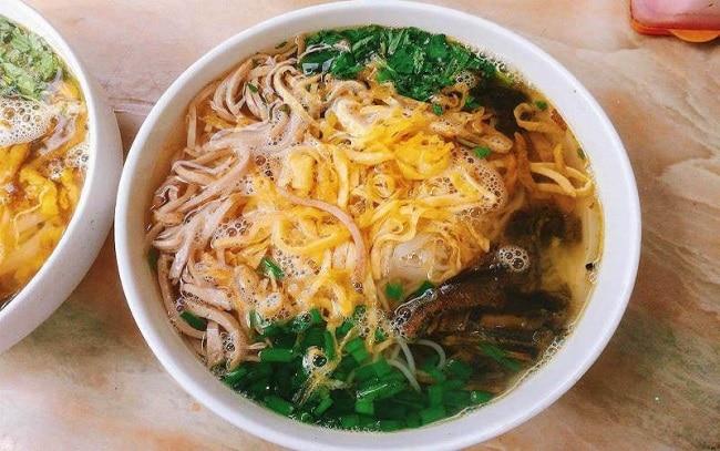 TOP 10 ĐẶC SẢN HƯNG YÊN - bún thang lươn