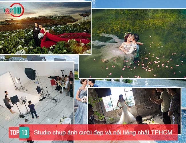 Top 10 Studio chụp ảnh cưới đẹp và nổi tiếng nhất TPHCM